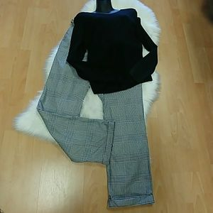 Tommy Hilfiger Houndstooth Trousers-Size 10